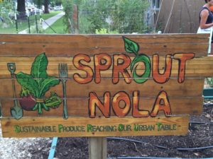 sprout nola sign